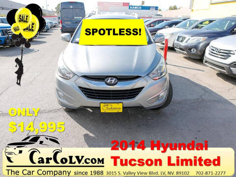 2014 Hyundai Tucson for sale at The Car Company in Las Vegas NV