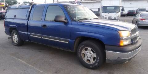 2003 Chevrolet Silverado 1500 for sale at JG Motors in Worcester MA