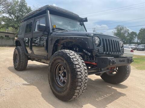 2014 Jeep Wrangler Unlimited for sale at Thornhill Motor Company in Hudson Oaks, TX
