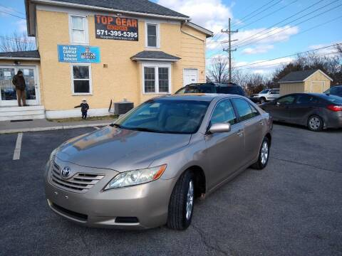 2007 Toyota Camry for sale at Top Gear Motors in Winchester VA