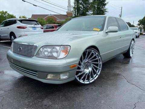 1998 Lexus LS 400 for sale at iDeal Auto in Raleigh NC