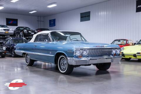 1963 Chevrolet Impala for sale at Cantech Automotive in North Syracuse NY