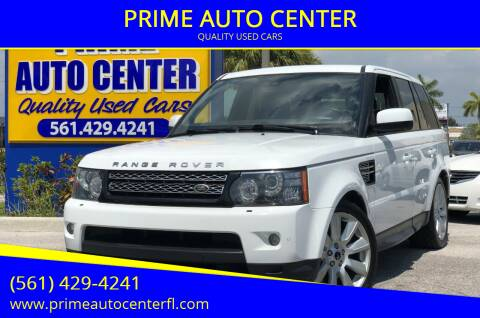 2013 Land Rover Range Rover Sport for sale at PRIME AUTO CENTER in Palm Springs FL