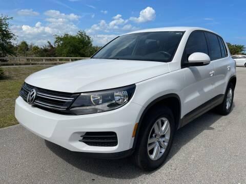 2013 Volkswagen Tiguan for sale at Goval Auto Sales in Pompano Beach FL