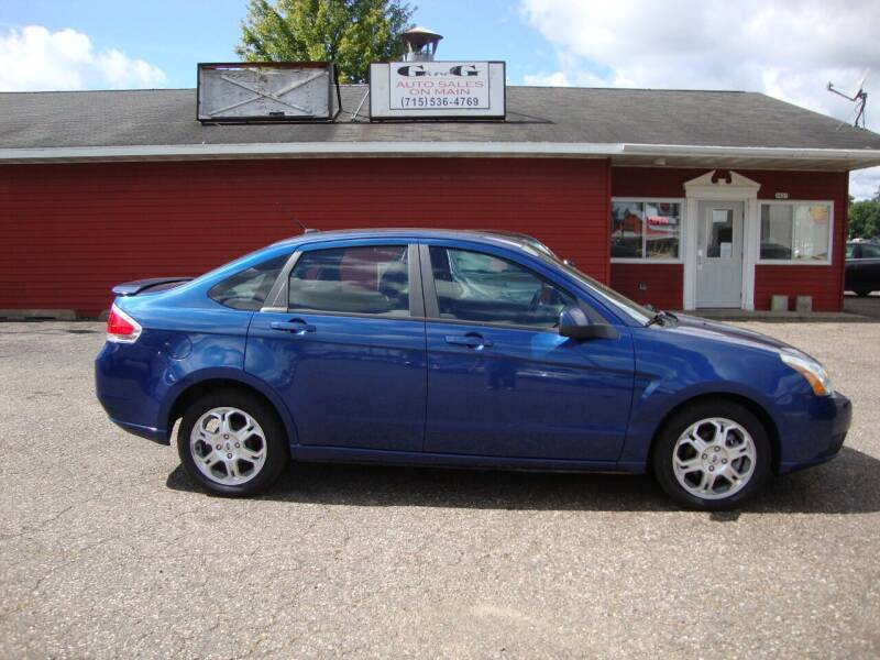 2009 Ford Focus for sale at G and G AUTO SALES in Merrill WI