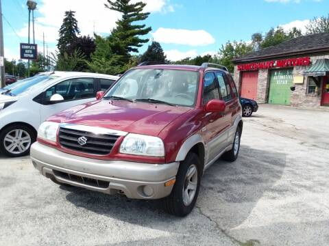 2001 Suzuki Grand Vitara for sale at Fraziers Sturtevant Motors in Sturtevant WI