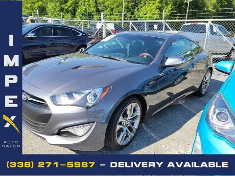 2015 Hyundai Genesis Coupe for sale at Impex Auto Sales in Greensboro NC