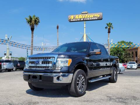 2013 Ford F-150 for sale at A MOTORS SALES AND FINANCE - 5630 San Pedro Ave in San Antonio TX