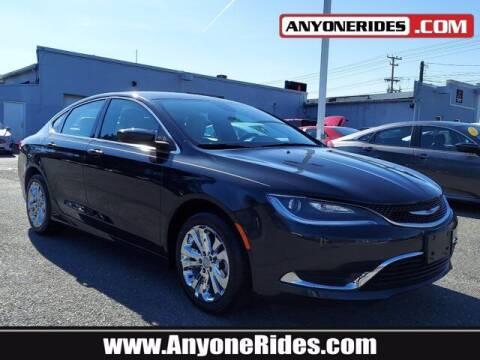 2017 Chrysler 200 for sale at ANYONERIDES.COM in Kingsville MD