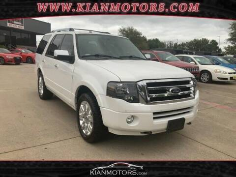 2014 Ford Expedition for sale at KIAN MOTORS INC in Denton TX