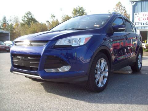 2014 Ford Escape for sale at Frank Coffey in Milford NH