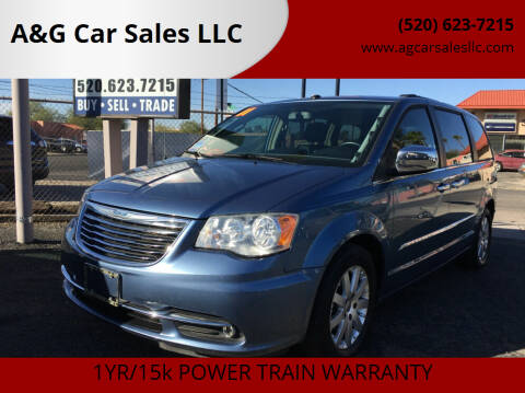 2011 Chrysler Town and Country for sale at A&G Car Sales  LLC in Tucson AZ