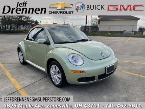 2008 Volkswagen New Beetle Convertible for sale at Jeff Drennen GM Superstore in Zanesville OH