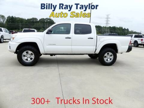 2015 Toyota Tacoma for sale at Billy Ray Taylor Auto Sales in Cullman AL