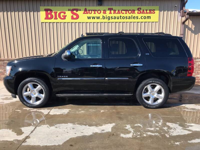 2014 Chevrolet Tahoe for sale at BIG 'S' AUTO & TRACTOR SALES in Blanchard OK