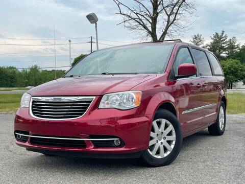 2014 Chrysler Town and Country for sale at MAGIC AUTO SALES in Little Ferry NJ