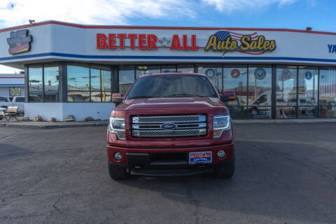 2018 Ford F-150 for sale at Better All Auto Sales in Yakima WA