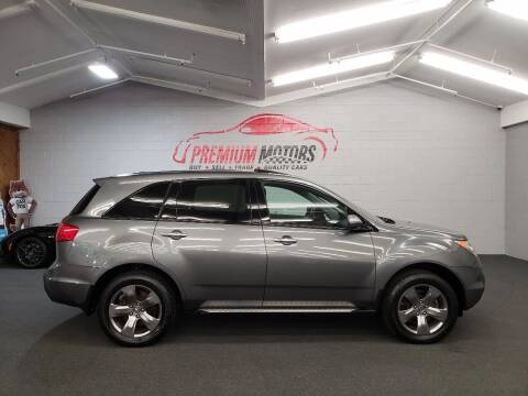 2009 Acura MDX for sale at Premium Motors in Villa Park IL