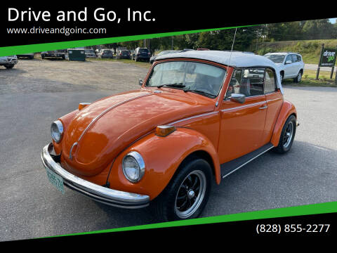 1971 Volkswagen Beetle Convertible for sale at Drive and Go, Inc. in Hickory NC