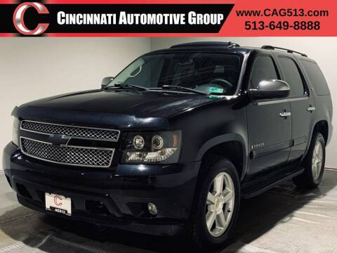 2007 Chevrolet Tahoe for sale at Cincinnati Automotive Group in Lebanon OH