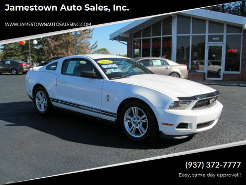 2012 Ford Mustang for sale at Jamestown Auto Sales, Inc. in Xenia OH