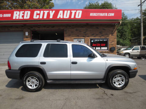 2003 Dodge Durango for sale at Red City  Auto in Omaha NE