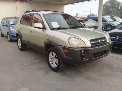 2006 Hyundai Tucson for sale at Dreamline Motors in Coolidge AZ