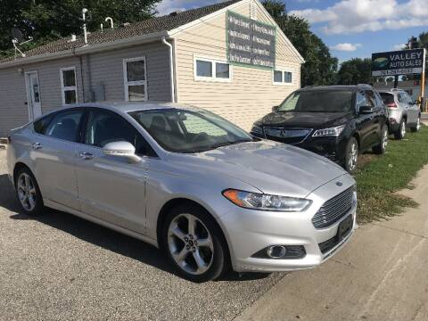 2015 Ford Fusion for sale at Valley Auto Sales in Fargo ND