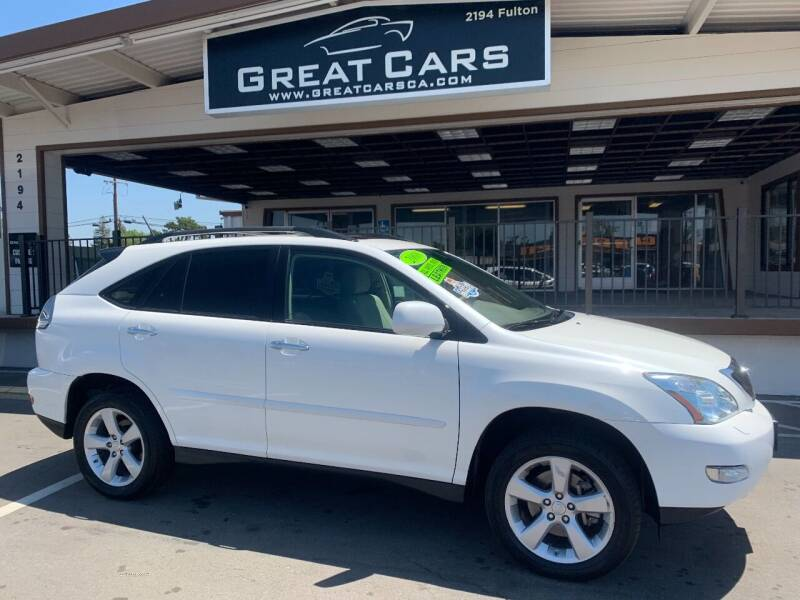 2008 Lexus RX 350 for sale at Great Cars in Sacramento CA