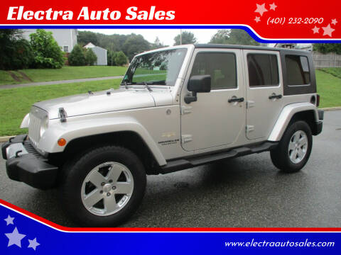 2008 Jeep Wrangler Unlimited for sale at Electra Auto Sales in Johnston RI
