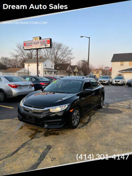 2018 Honda Civic for sale at Dream Auto Sales in South Milwaukee WI