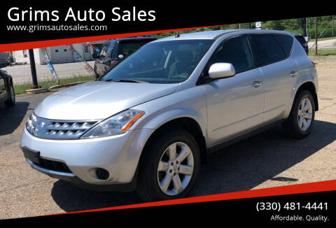 2007 Nissan Murano for sale at Grims Auto Sales in North Lawrence OH