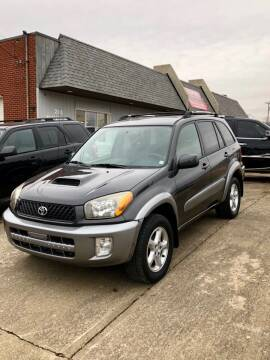 2003 Toyota RAV4 for sale at Stephen Motor Sales LLC in Caldwell OH