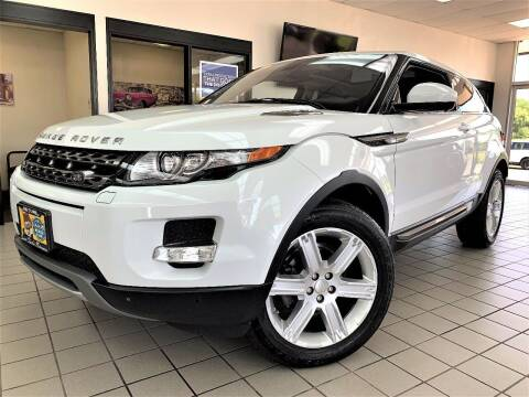 2014 Land Rover Range Rover Evoque Coupe for sale at SAINT CHARLES MOTORCARS in Saint Charles IL