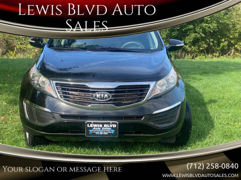 2011 Kia Sportage for sale at Lewis Blvd Auto Sales in Sioux City IA