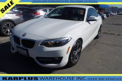 2017 BMW 2 Series for sale at Karplus Warehouse in Pacoima CA