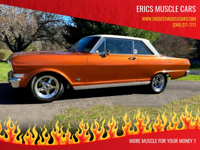 1964 Chevrolet Nova for sale at Erics Muscle Cars in Clarksburg MD