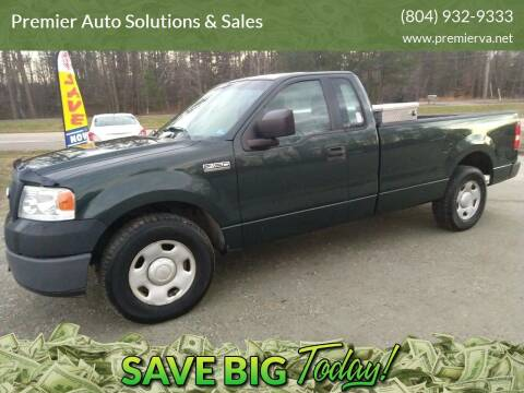2006 Ford F-150 for sale at Premier Auto Solutions & Sales in Quinton VA
