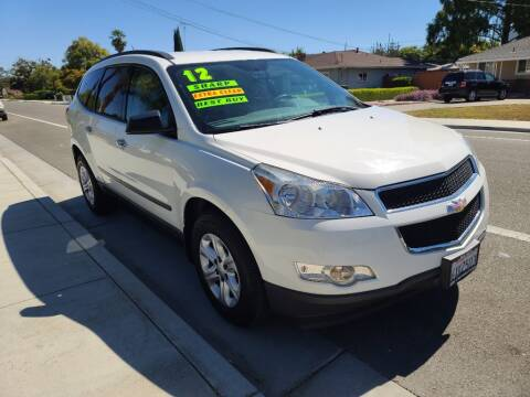 2012 Chevrolet Traverse for sale at ROBLES MOTORS in San Jose CA