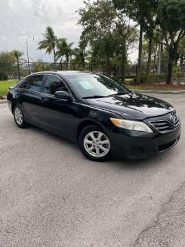 2011 Toyota Camry for sale at Car Net Auto Sales in Plantation FL
