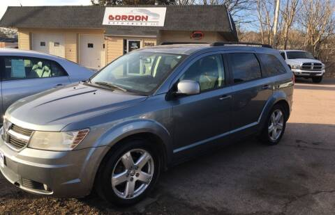 2010 Dodge Journey for sale at Gordon Auto Sales LLC in Sioux City IA