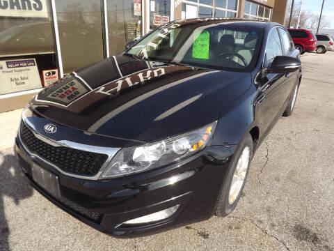 2013 Kia Optima for sale at Arko Auto Sales in Eastlake OH