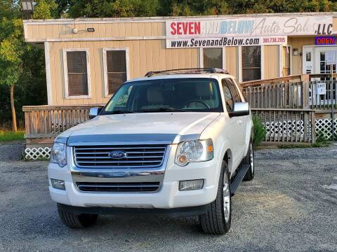 2010 Ford Explorer for sale at Seven and Below Auto Sales, LLC in Rockville MD