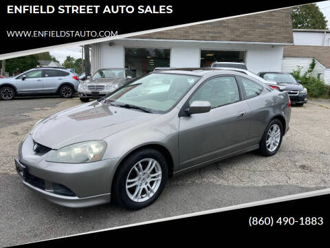 2005 Acura RSX for sale at ENFIELD STREET AUTO SALES in Enfield CT