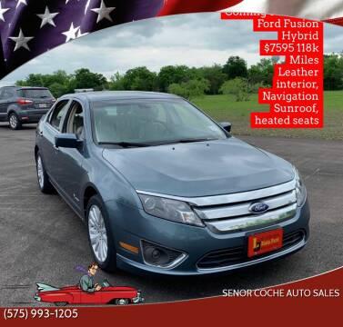 2011 Ford Fusion Hybrid for sale at Senor Coche Auto Sales in Las Cruces NM