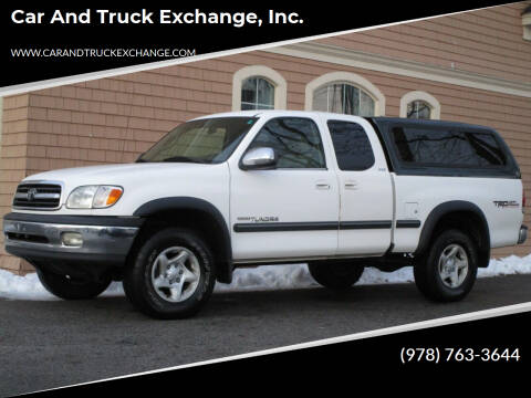 2002 Toyota Tundra for sale at Car and Truck Exchange, Inc. in Rowley MA