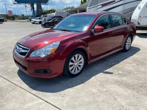 2010 Subaru Legacy for sale at Autoway Auto Center in Sevierville TN