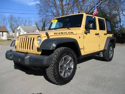2014 Jeep Wrangler Unlimited for sale at A & A IMPORTS OF TN in Madison TN