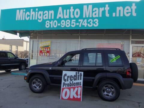 2007 Jeep Liberty for sale at Michigan Auto Mart in Port Huron MI