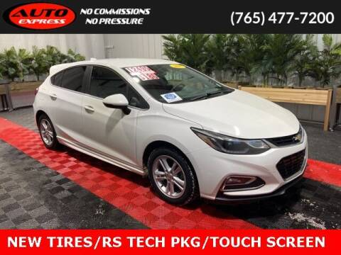 2017 Chevrolet Cruze for sale at Auto Express in Lafayette IN